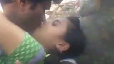 XXX hindi video of a young college couple enjoying some outdoor fun
