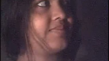 Desi bhabhi enjoying her first time sex video on a webcam with her lover