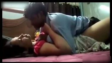 Chubby bhabhi enjoys home sex with her husband's assistant