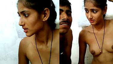 Young Newly Married Indian Wife Filmed Naked