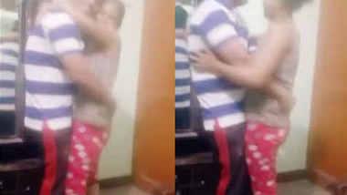 Desi couple dancing