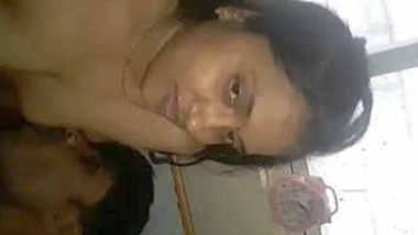 Beautiful South Bhabhi Sucking Dick & getting Boob Sucked