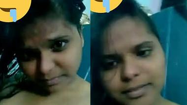 Telugu Slut Deepika Showing Boobs & Pussy part 1