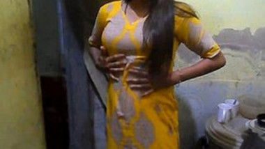 Charming Indian Village Girl Showing Natural Tits