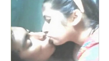 Indian Hot Beautiful bhabhi boob sucking by devar.