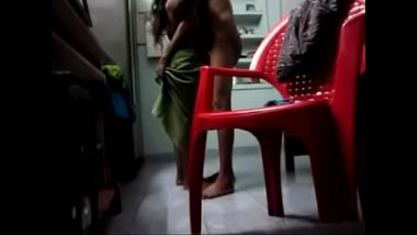 Hot Bangla Aunty Banged By Nephew In Standing