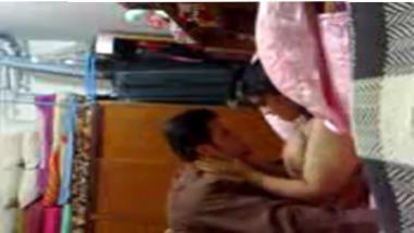 Hot Indian Punjabi wife self made home sex video