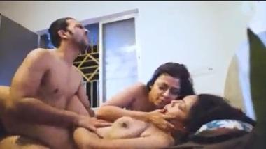 Desi threesome porn of husband wife and neighbor