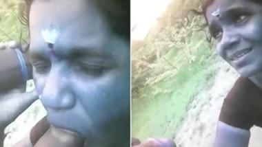 Tamil aunty hot blowjob
