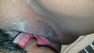 Servent maid pussy licked by his horny Indian house owner