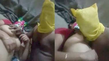 Jhanvi Bhabhi Boobs And Pussy Capture by Husband