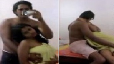 College desi love birds hot Indian Chudai at camera