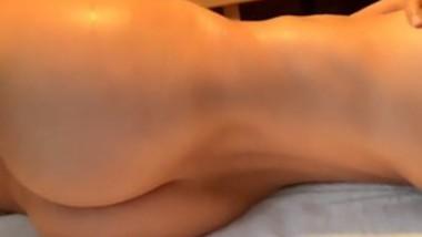 Beautiful girl show her cute boob selfie cam video-3
