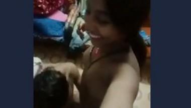 Desi wife boob sucking