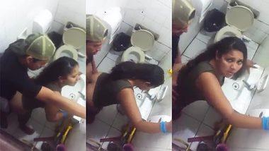 [ XXX Indian XXX Porn ] Desi caught on cam during sex on the toilet