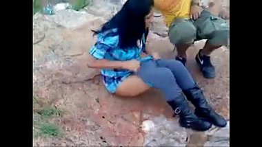 Sexy Nepali Girl Caught Having Sex In Mountain
