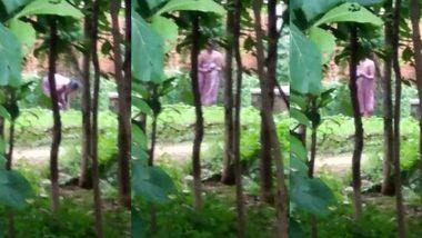 Desi bhabi aunty caught having shower outdoor