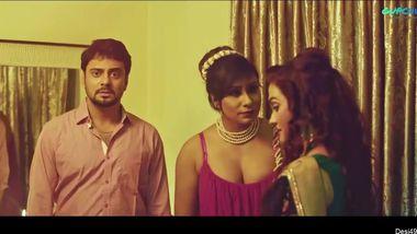 Lucky men enjoy the company of horny Desi MILFs in hot XXX movie