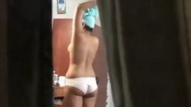 Filming my sister in law naked in her room