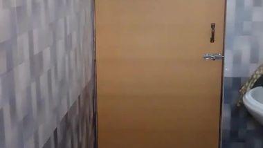 Tenant sets a hidden cam to jerk off to XXX videos of Desi landlady