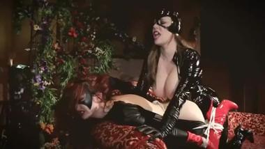 Kendra James & Anastasia Pierce: Batwoman vs Catwoman superheroines
