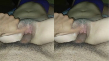 Indian guy has sex with a sweetheart in point of view porn video