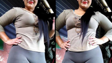 Classy Indian sex diva poses in outfit that accentuates her XXX curves