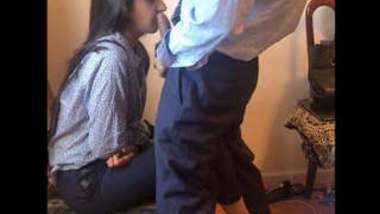 NRI Punjabi Beautiful Girl Fucking With Lover