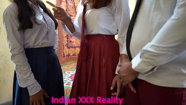Indian Best-Ever 2 College Girlfriend Fuck by 1 College Boyfriend, With Clear Hindi Voice