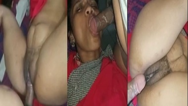 Desi Randi Bhabhi Blowjob and Hard Fucked